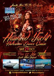 halloween city returns nyc halloween cruise new york harbor hornblower serenity nyc