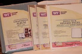 8 1 2 x 11 photo album westrim crafts hinge 8 1 2 x 11 cloth album pages page