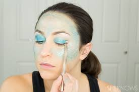 easy face makeup for halloween how to totally master instagram u0027s halloween mermaid makeup