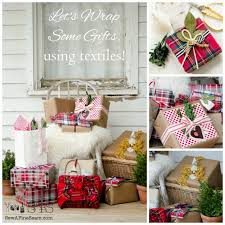 How To Wrap Gifts - how to wrap gifts with textiles the kim six fix