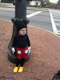 Mickey Mouse Toddler Costume Mickey Mouse Toddler Costume Photo 3 3