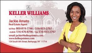 Keller Williams Business Cards Keller Williams Custom Magnetic Business Cards Design L 003