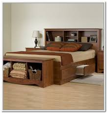 49 bookcase bed frame queen atwood queen bed with bookcase crate