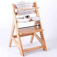 chaise haute bebe bois chaise haute bébé bois amazon fr