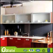 kitchen glass cabinet door manufacturer l09 china modern kitchen cabinet design idea aluminum frame