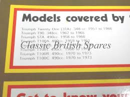triumph unit 350 500 twins haynes workshop manual 1958 74 cbs 1856 3ta