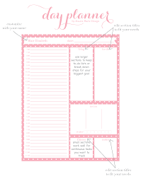 cute daily planner template jessica marie design blog day planner by jessica marie design