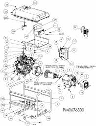 portable generator parts diagram periodic u0026 diagrams science