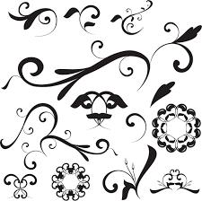 floral ornaments vector ai svg eps vector free