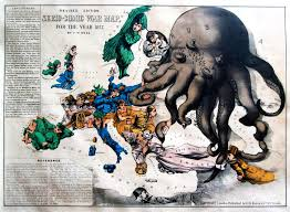 Cold War Map Of Europe by A Collection Of Satirical Maps Of Europe Vivid Maps