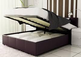 ottoman storage bed frame beds shop edinburgh regarding mattress