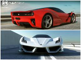 ferrari building us startup plans to rip off ferrari build a corvette powered