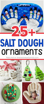 25 salt dough ornaments for the best ideas for