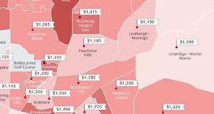 atlanta average rent the zumper blog