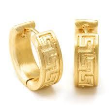 s gold earrings hip hop earrings mens earrings bling bling earring iced out