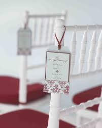 Fan Programs For Weddings 25 Ways To Upgrade Your Diy Wedding Programs Martha Stewart Weddings
