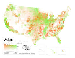 Population Map Of The United States by Radicalcartography