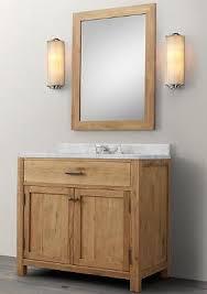 Hardwood Bathroom Vanities Wnut01 36 Wooden Bathroom Vanity In Light Walnut Color From Walnut