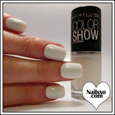 color show latte and winter baby nail polish swatch nailsxo
