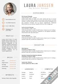 standard cv template word 28 images word resume templates 2016