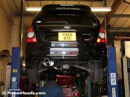 subaru forester exhaust subaru forester sti ph fleet pistonheads