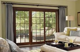 Patio Doors Curtains Wonderful Patio Door Curtain Ideas For Home Decohoms