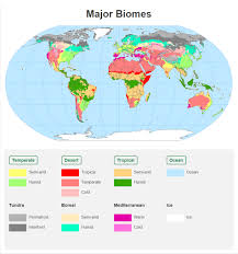 America Map With Names by Biome Map With Country Names Maps Of Usa