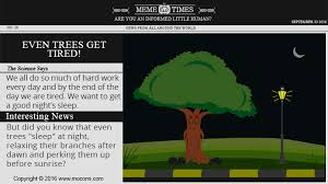 Tired At Work Meme - do trees sleep at night meme times for kids mocomi