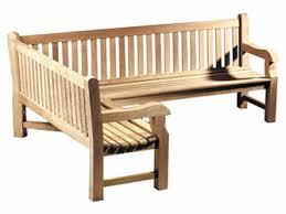 Heavy Duty Garden Bench Teak 2 4m Corner Garden Benches