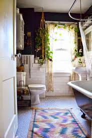 Bathroom Addition Ideas Colors By Adding A Few Live Plants U0026 A Bright Colored Tribal Print Rug