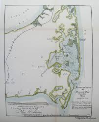 reconnaissance of pleasant bay cape cod mass 1902 antique