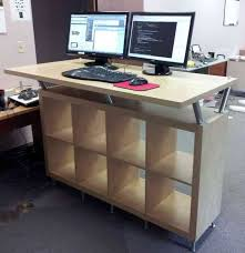 Ikea Office Desks Standing Computer Desk Ikea Capt Pinterest Desks