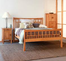 contemporary craftsman bedroom furniture set vermont woods studios
