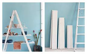 Diy Ladder Bookshelf Decorating Trend Ladder Shelves Diy Decorator