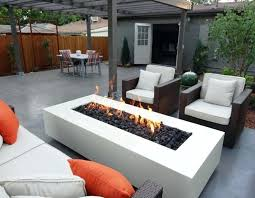 Modern Firepits Gas Fuel Modern Pit Patio Fireplaces Firepits Modern