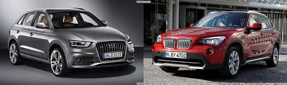 bmw x1 vs audi q3 photo comparison bmw x1 vs new audi q3