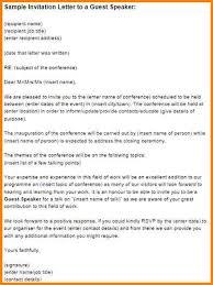 formal invitation letter invitation letter sample for a business
