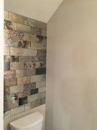 Mirrored Mosaic Tile Backsplash by Tile Sparkle Glass Tile Mirrored Subway Tiles Glass Mosaic Tile
