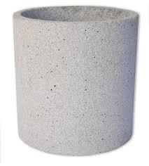 large concrete pot natural