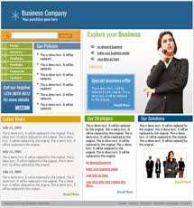 free website templates with business theme 1