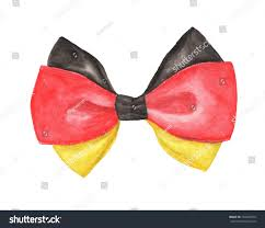 Flag Black Red Yellow Black Red Yellow Deutschland German Flag Stock Illustration