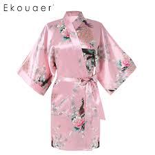 aliexpress com buy 2017 female robes printed floral kimono