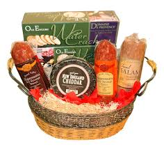 Meat And Cheese Gift Baskets Artisanal Meats And Cheese Basket Sid Wainer U0026 Son