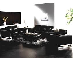 Black Leather Sofa Modern Modern Living Room Black Leather Sofa Set Cabinet Hardware Best