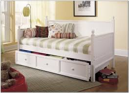 Twin Bed With Storage And Bookcase Headboard by Twin Bed With Trundle Ikea And Storage Drawers U2014 Modern Storage