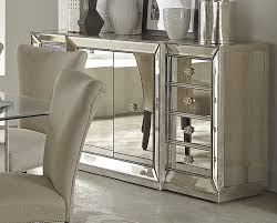 contemporary living room area with 4 corner shelves mirrored
