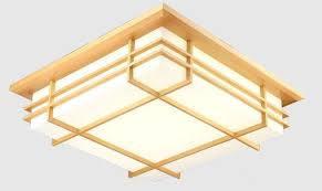 Japanese Ceiling Light Japanese Indoor Lighting Led Ceiling Light L Square 45 55cm