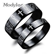 aliexpress buy modyle new fashion wedding rings for aliexpress buy modyle black cross design rings