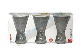 bicchieri cerve bicc c 3 cal rubens acqua cc 315 king m32550 cerv277 bicchieri