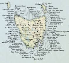 Australian Map From Prominent Nob To Chunda Bay This Australian Map Isn U0027t Like